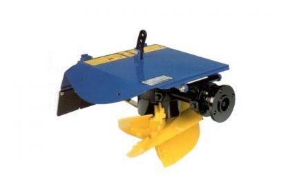 Aratro rotativo BERTA con vomeri elicoidali
